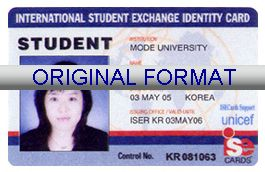 STUDENT EXCHANGE DRIVER LICENSE ORIGINAL FORMAT, DESIGN SPECIFICATIONS, NOVELTY SECURITY CARD PROFILES, IDENTITY, NEW SOFTWARE ID SOFTWARE